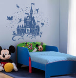 Disney Castle Characters Wall Sticker Art Decal