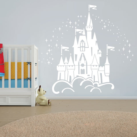 Disney Castle Wall Sticker   Wall Chick Part 41
