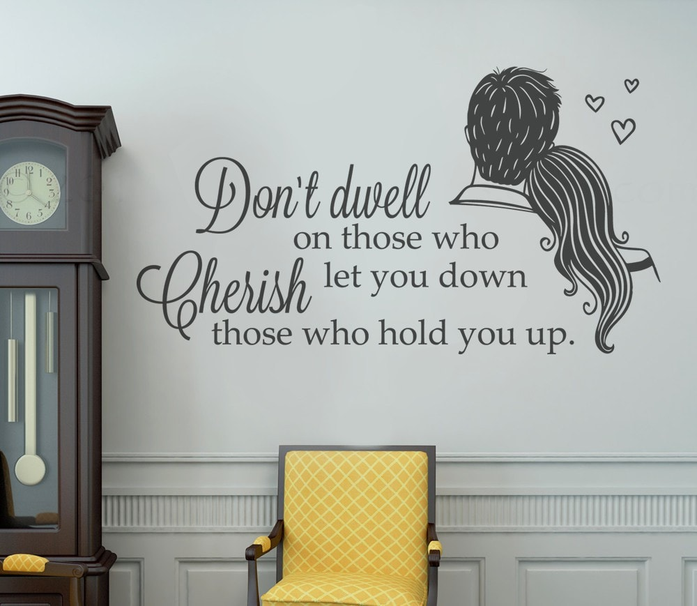 Don't Dwell Wall Sticker Wall Sticker - Wall Chick