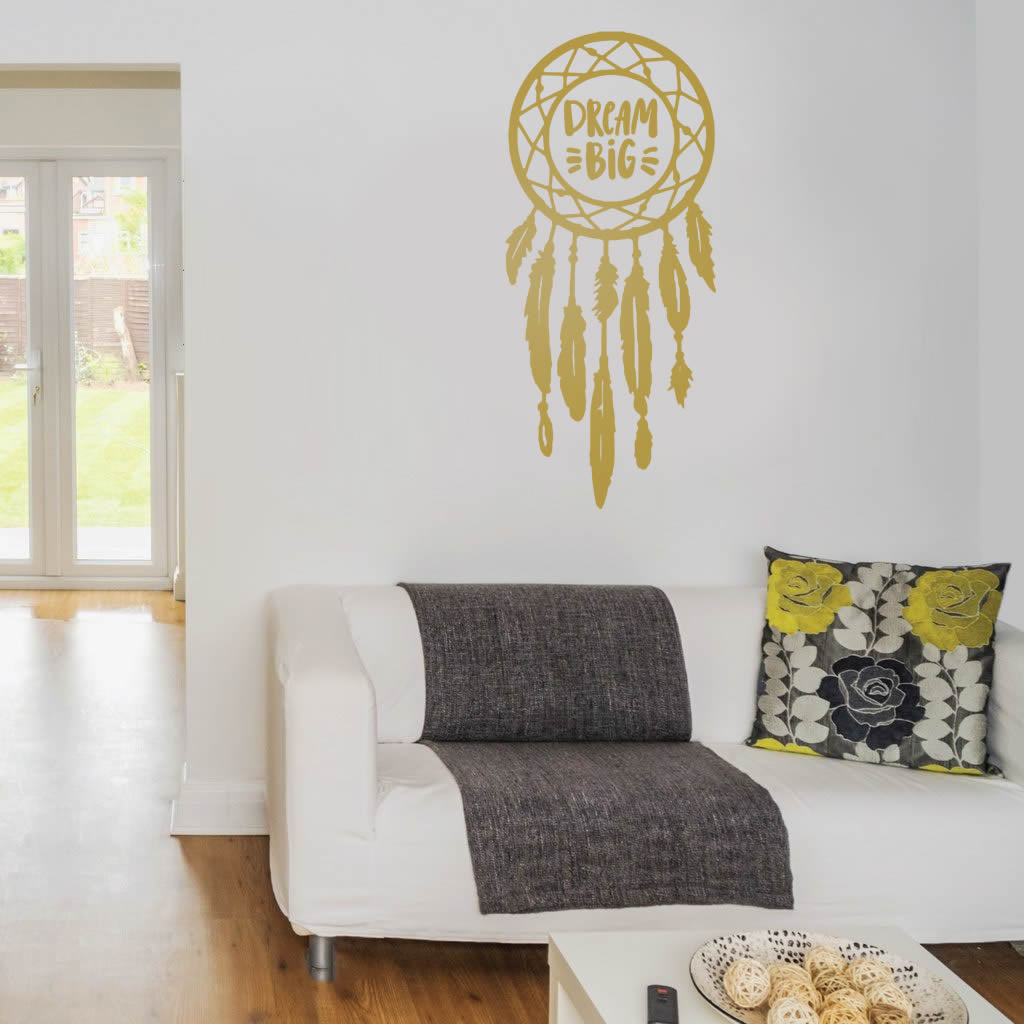 Dream Big Dream Catcher Wall Sticker
