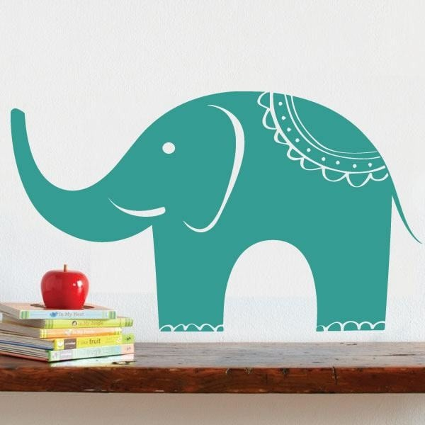 Elephant Wall Sticker Wall Sticker - Wall Chick
