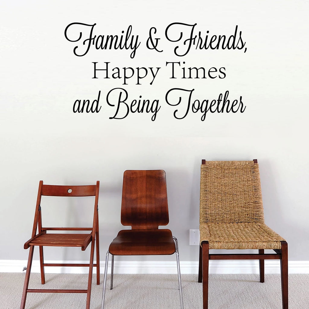 Family Friends - Happy Times Wall Sticker