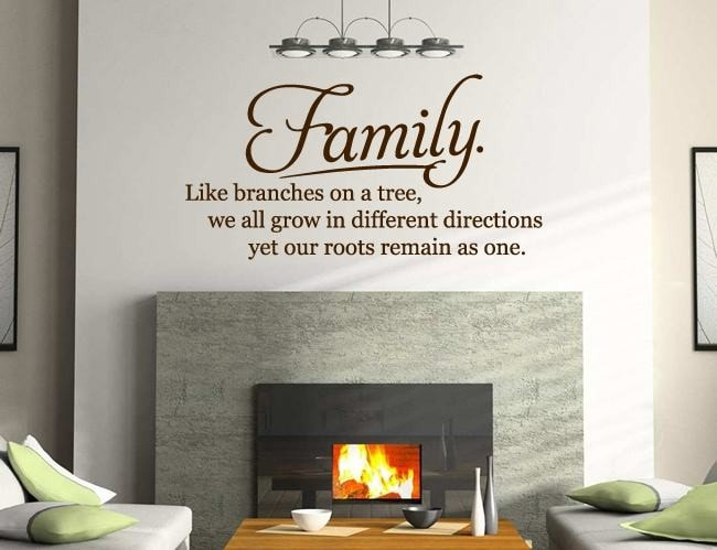 Family Roots Wall Sticker - Wall Chick