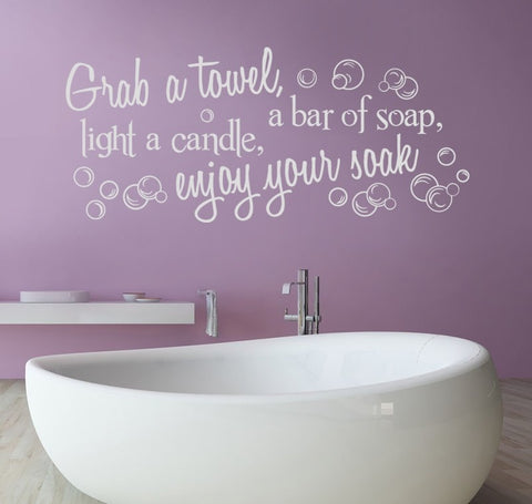 Grab a Towel Wall Sticker - Wall Chick