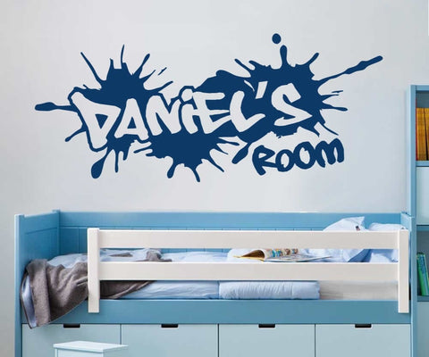 Graffiti Name Personalised Wall Sticker - Wall Chick