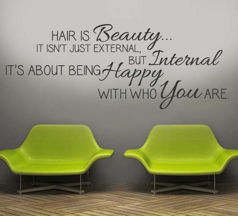 Hair is Beauty Wall Sticker - Wall Chick