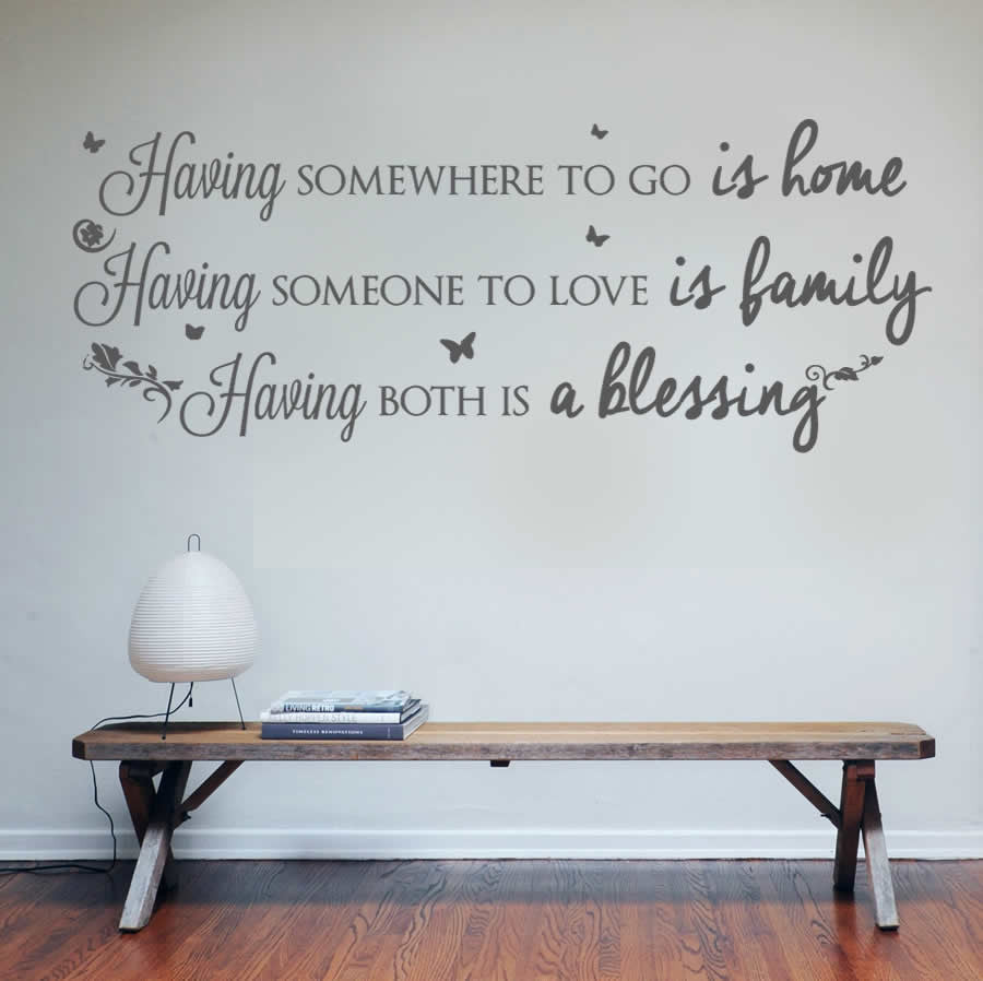 Having Somewhere to Go Wall Sticker