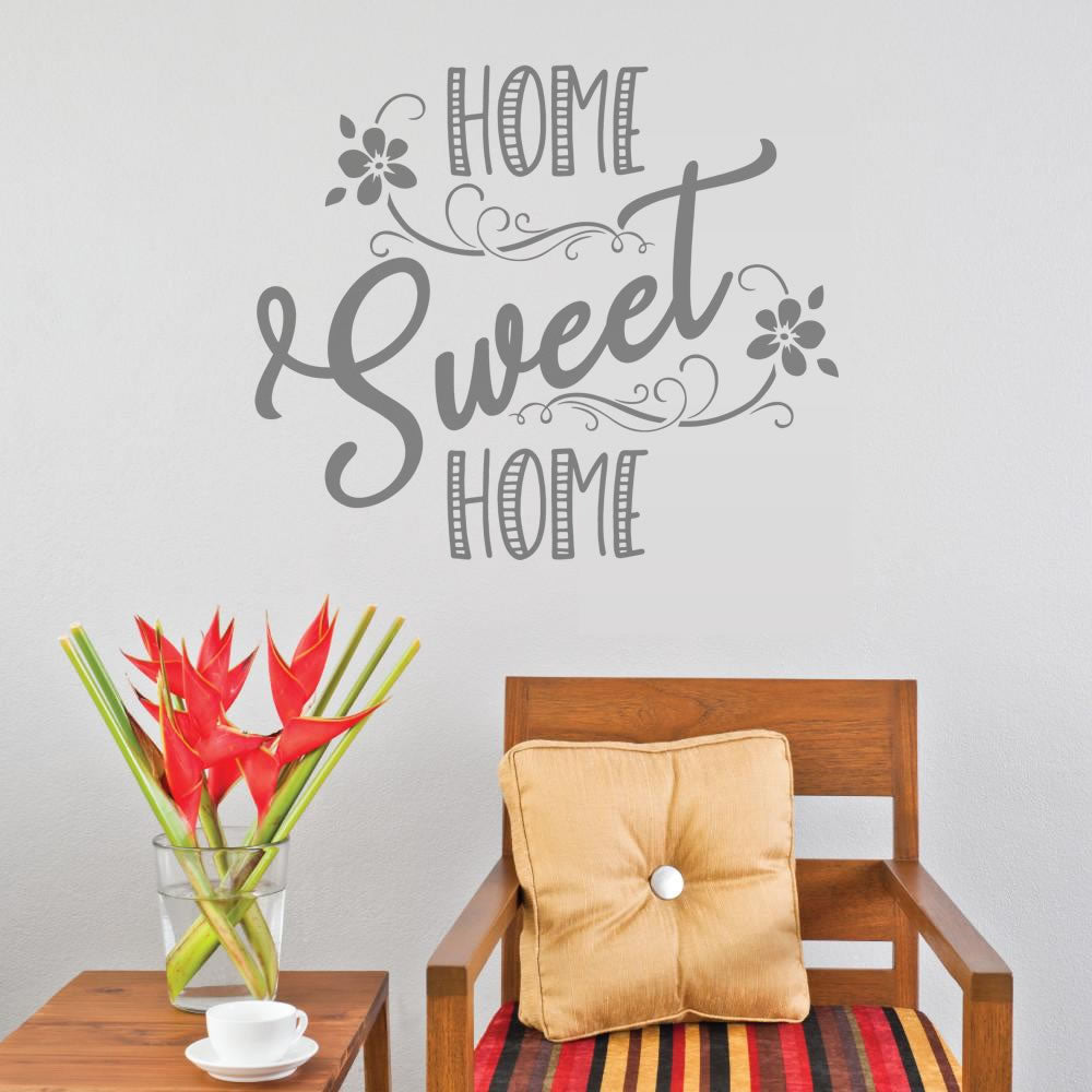 Home Sweet Home Pretty Wall Sticker