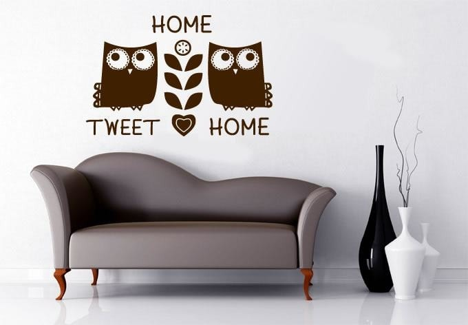 Home Tweet home Wall Sticker - Wall Chick