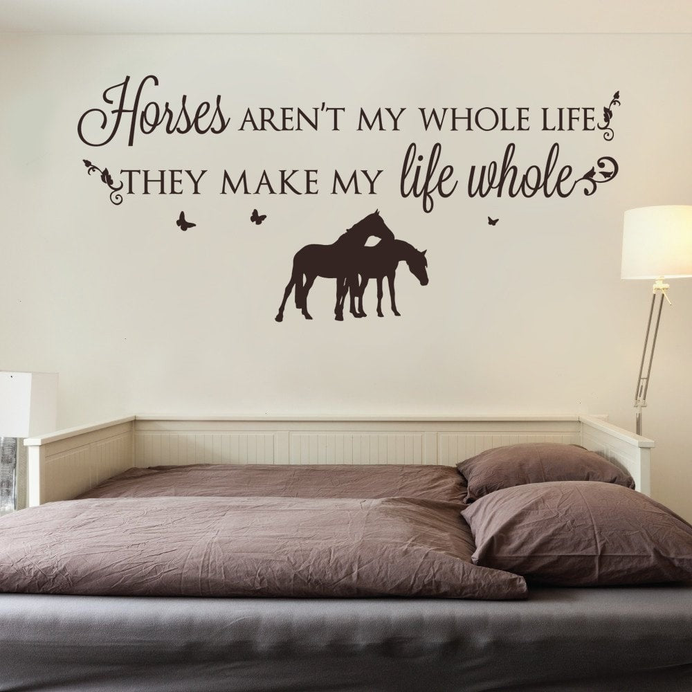 Horses Arent My Whole Life Wall Sticker Wall Sticker - Wall Chick