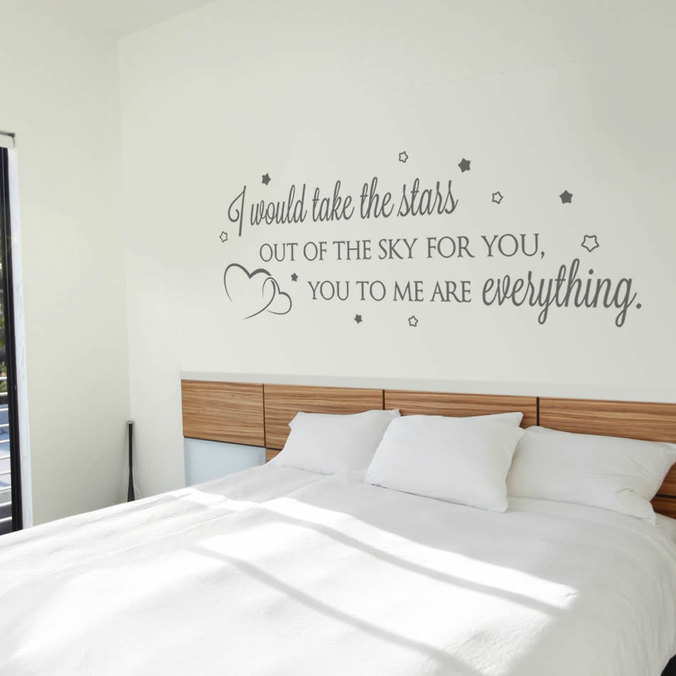 I Would Take the Stars Wall Sticker