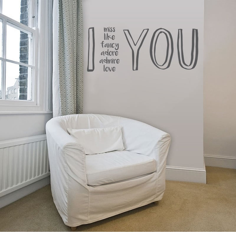 I - You Wall Sticker - Wall Chick