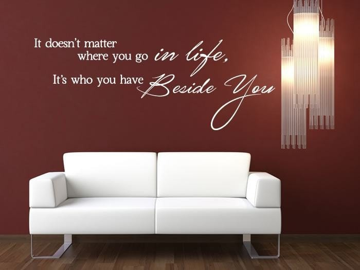 It Doesn't Matter Wall Sticker - Wall Chick