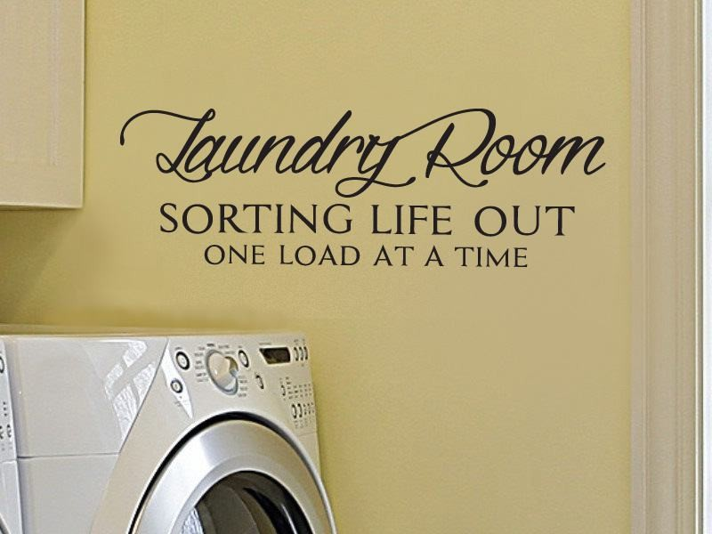 Laundry Room Sorting Wall Sticker - Wall Chick