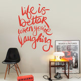 Life is Better Wall Sticker - Wall Chick