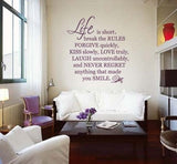 Life is Short Wall Sticker - Wall Chick