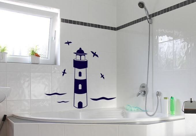 Lighthouse Wall Sticker - Wall Chick