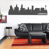 Liverpool Skyline Wall Sticker - Wall Chick