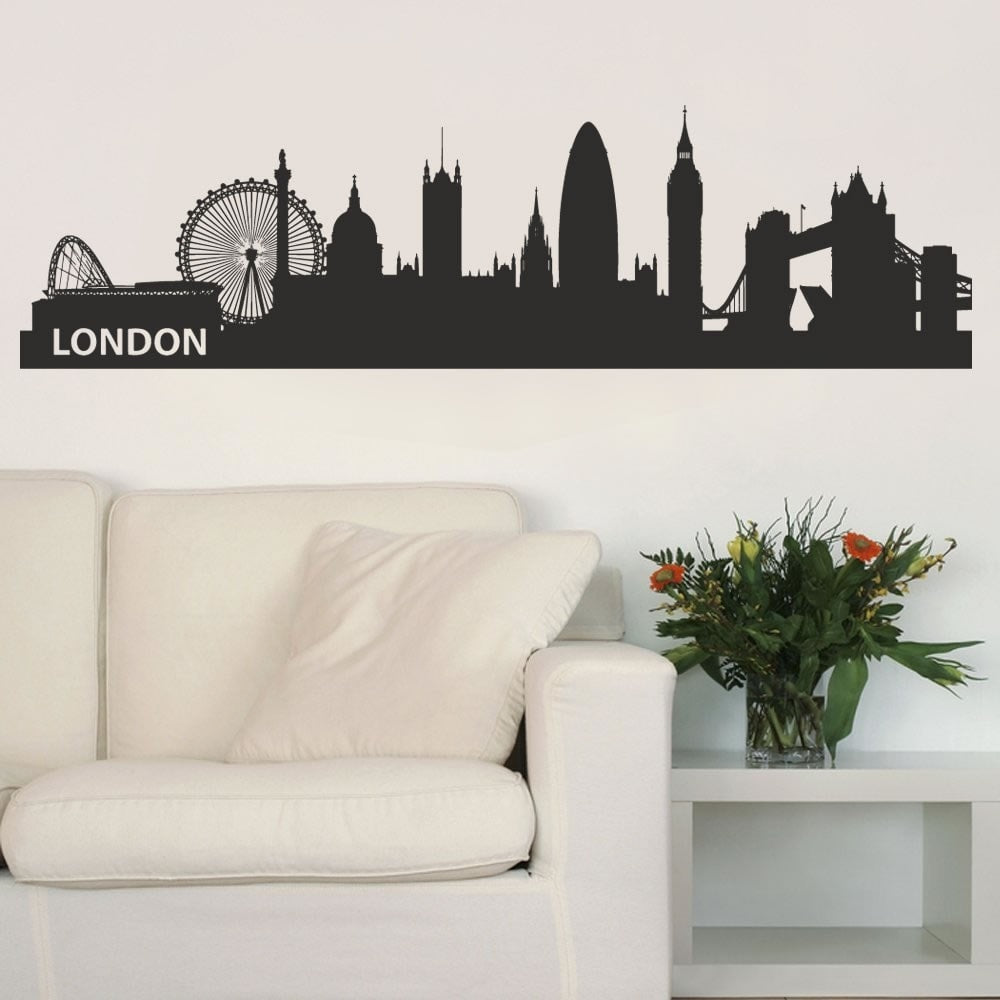 London Skyline Wall Sticker - Wall Chick