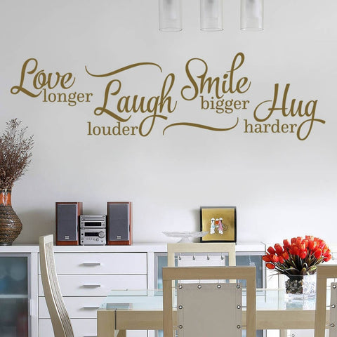 Love Longer Wall Sticker - Wall Chick
