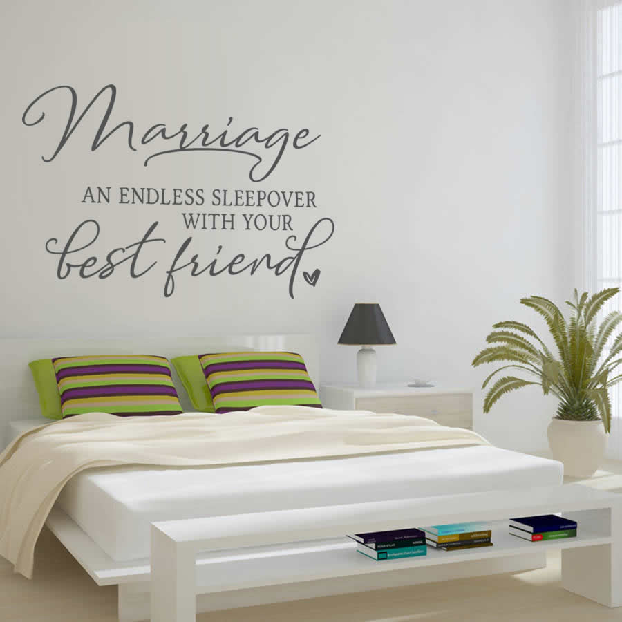 Marriage - An Endless Sleepover Wall Sticker