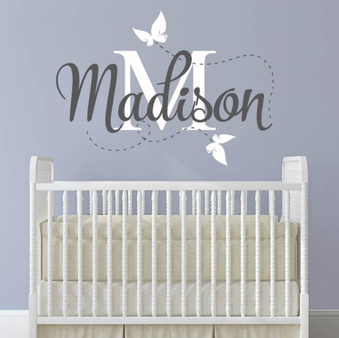 Baby Monogram Wall Sticker Wall Sticker - Wall Chick