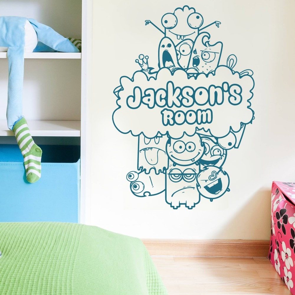 Little Monsters Wall Sticker - Wall Chick