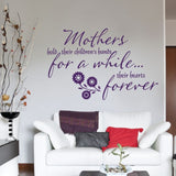Mothers Hold Wall Sticker - Wall Chick