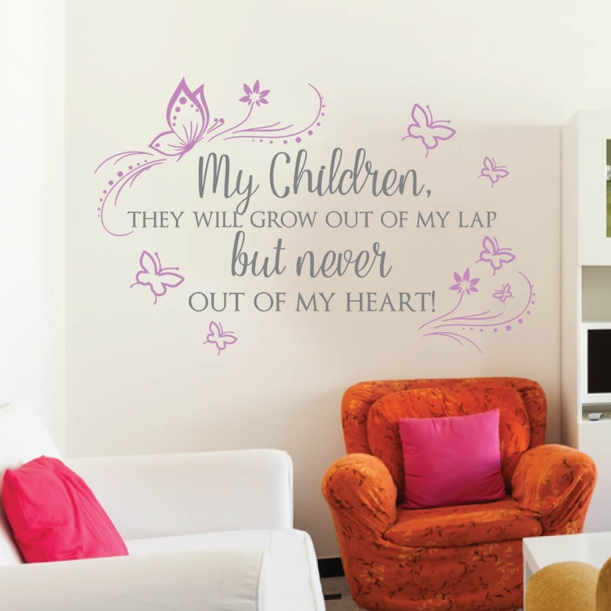 My Children Wall Sticker - Wall Chick