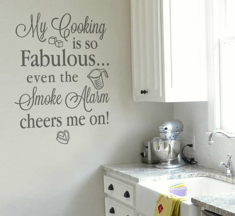 My Cooking Is So Fabulous Wall Sticker
