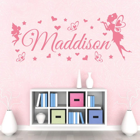 Fairy Name Wall Sticker - Wall Chick