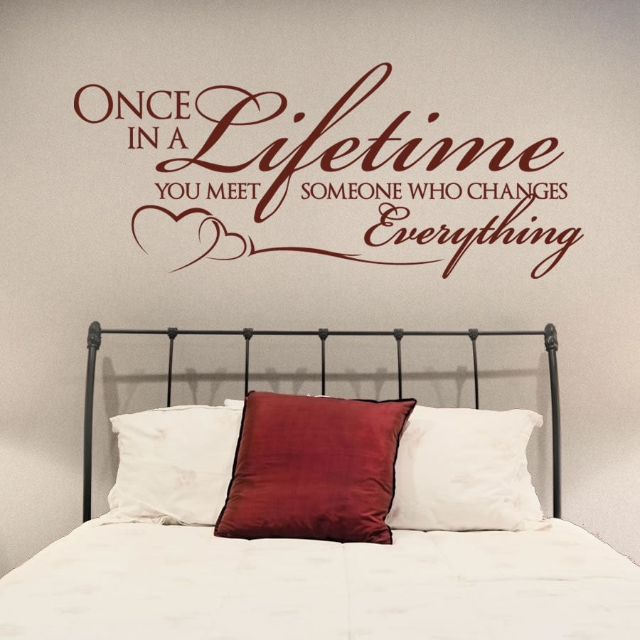 Once In A Lifetime Wall Sticker - Wall Chick