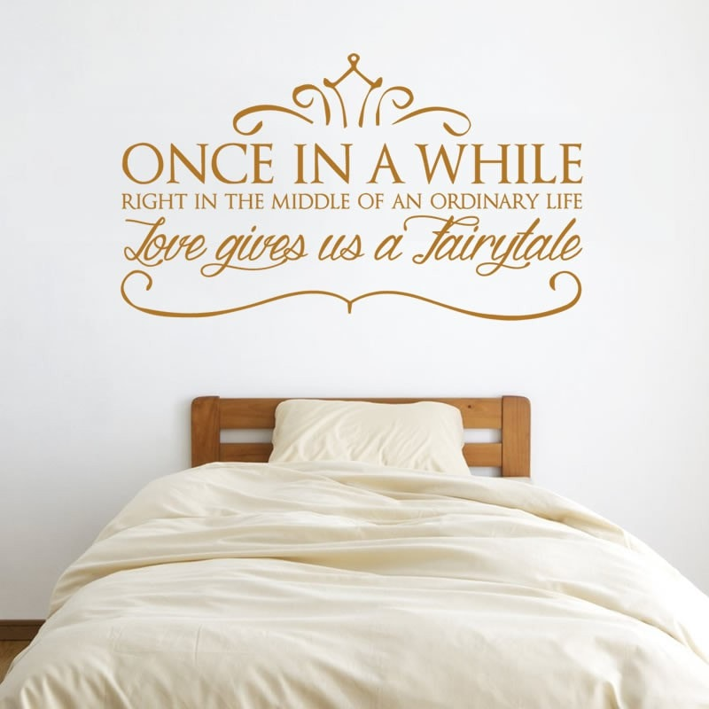 Once In A While Wall Sticker - Wall Chick