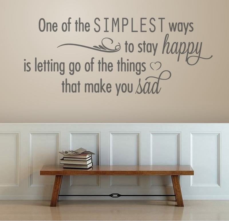 One of the Simplest Ways Wall Sticker - Wall Chick