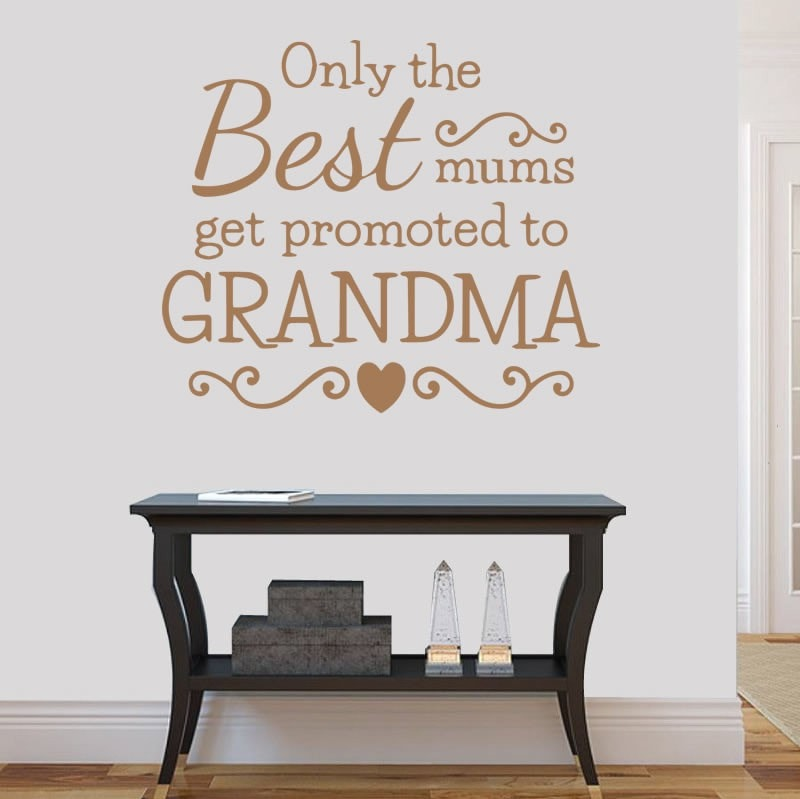 Only the Best Mums Wall Sticker - Wall Chick