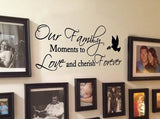 Our Family Moments Wall Sticker - Wall Chick