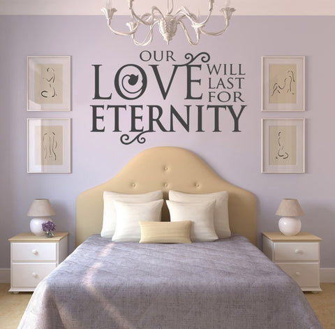 Our Love Wall Sticker - Wall Chick