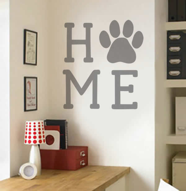 Paw Home Wall Stickers