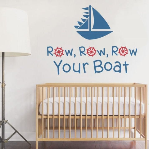 Row Your Boat Wall Sticker - Wall Chick