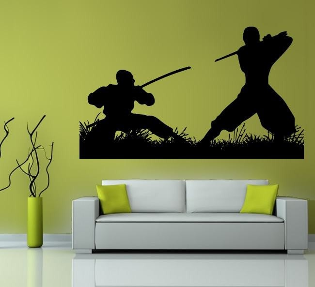 Samurai Wall Sticker - Wall Chick