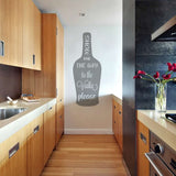 "Show Me The Way To The ""Drink"" Please Wall Sticker"