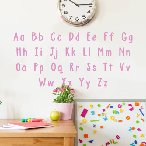 Alphabet Wall Sticker Pack