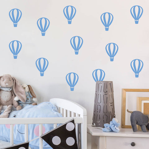 Air Balloons Wall Sticker Pack