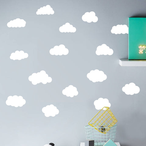 Clouds Wall Sticker Pack