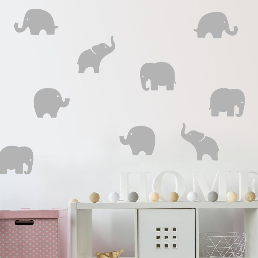 Elephants Wall Sticker Pack