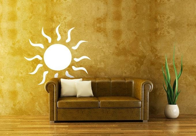 Sun Wall Sticker - Wall Chick