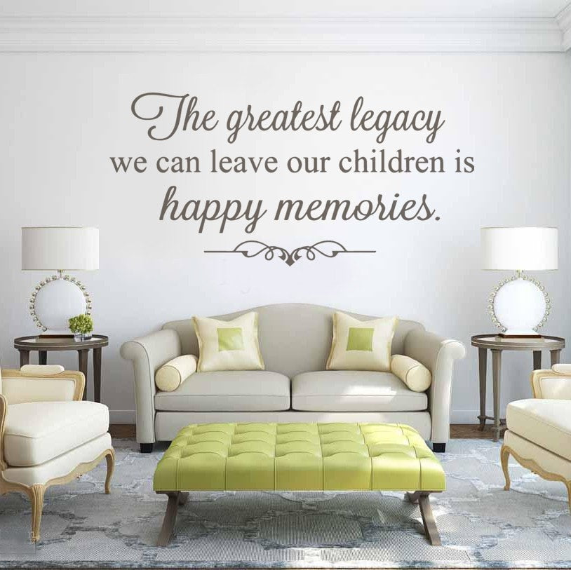 The Greatest Legacy Wall Sticker - Wall Chick