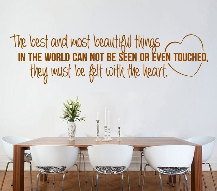 Most Beautiful Things Wall Sticker - Wall Chick
