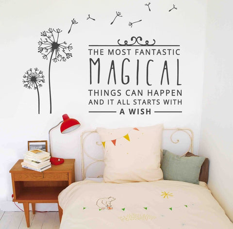 the most fantastic wall sticker
