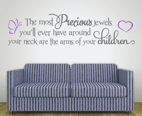 Most Precious Jewels Wall Sticker - Wall Chick